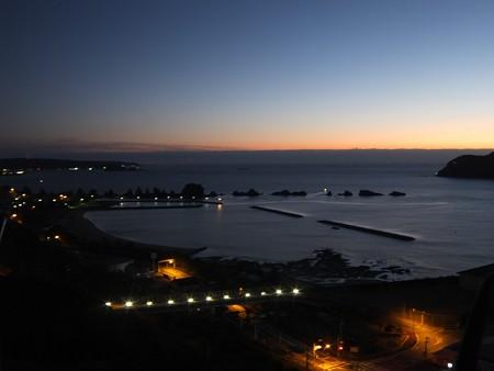 橋杭岩の夜明け 6:21