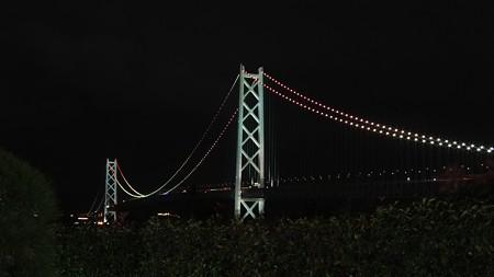 明石海峡大橋03 舞子ビラ神戸の庭から