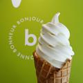 写真: チーズクリームのソフトクリーム