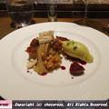 写真: 和栗を使ったモンブラン イチジクのコンポートとピスタチオのアイス