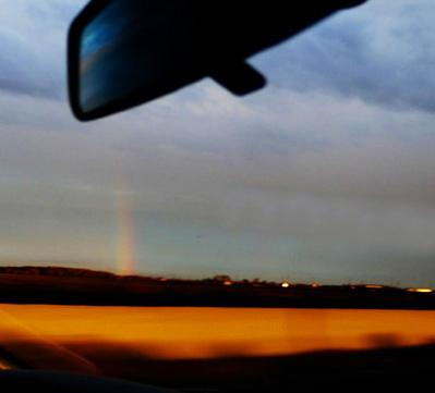 Way from Yosemite-Rainbow