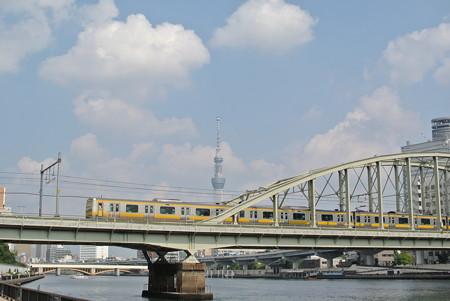総武線隅田川橋梁