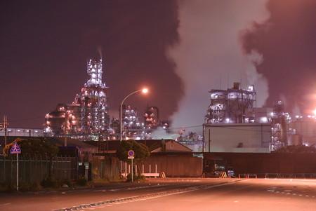 千鳥町工場夜景(川崎)
