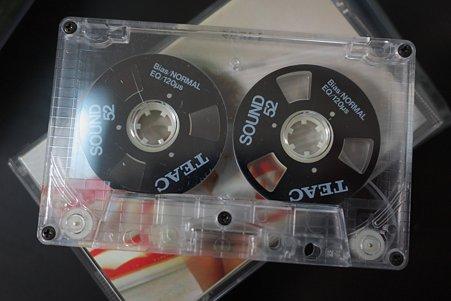2011.11.14 机 カセットテープ Teac Sound 52 BL Reel Cassette