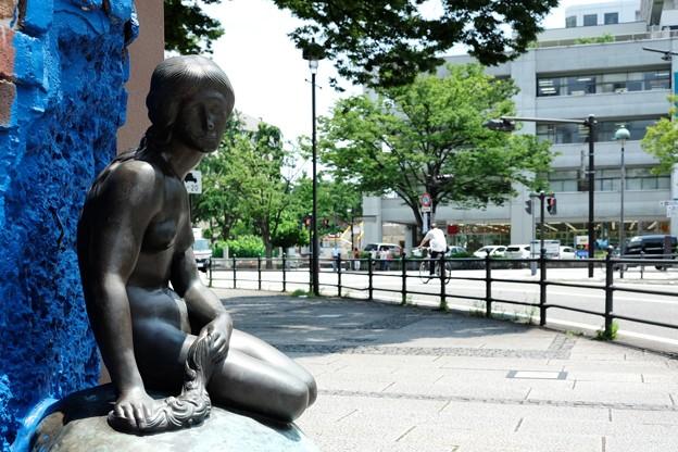 2014.07.01 海岸通り スカンディア・ガーデン 人魚姫