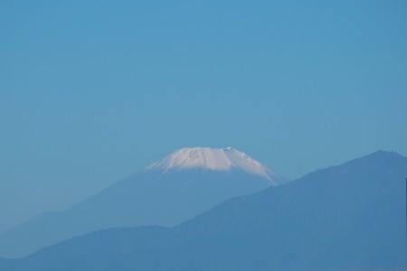 2014.10.29 駅前 富士山