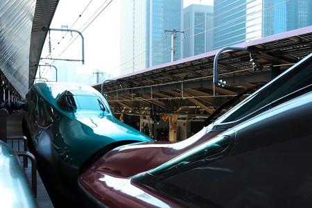 2014.11.22 東京駅 20番線ホーム