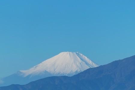 2014.12.02 駅前 富士山