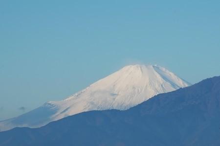 2014.12.05 駅前 富士山