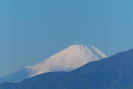 2014.12.07 駅前 富士山