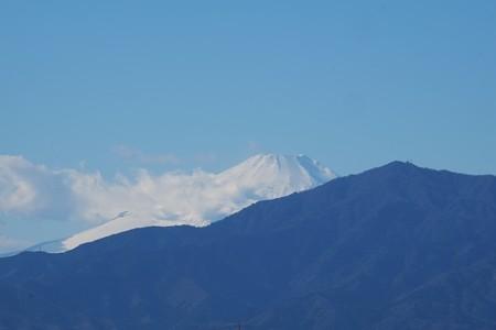 2014.12.18 駅前 富士山