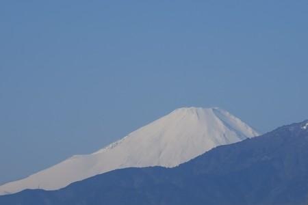 2015.01.16 駅前 富士山