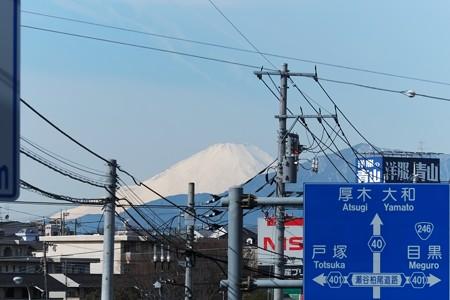 2015.02.16 駅傍 富士山