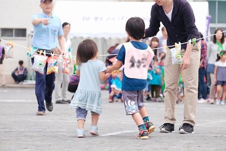 2017.09.30 小学校 町内対抗運動会 兄弟
