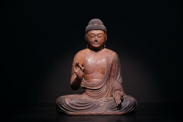 2017.10.24 東京国立博物館 阿弥陀如来像 願生寺