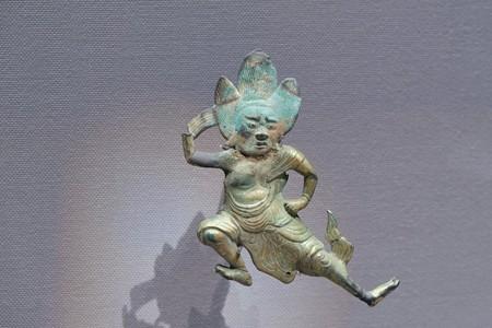 2017.10.24 東京国立博物館 吉野曼荼羅懸仏 大峯山寺蔵