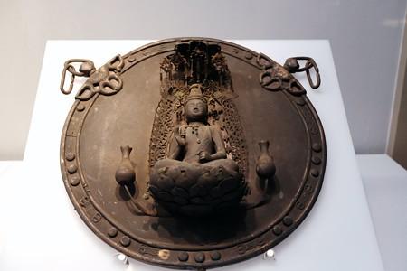 2017.10.24 東京国立博物館 金銅聖観音懸仏 E-19920