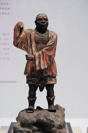 20172017.10.24 東京国立博物館 四天王眷属立像 南方天眷属 C-1834-2