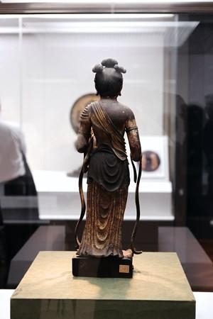 2017.10.24 東京国立博物館 文殊菩薩立像 背 C-23