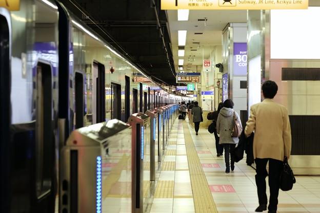 2017.11.15 横浜駅 ホームドア