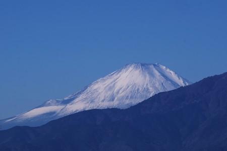 2017.11.21 駅前 富士山