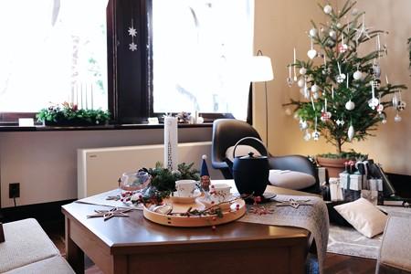 2017.12.12 山手西洋館 エリスマン邸 世界のクリスマス デンマーク 居間