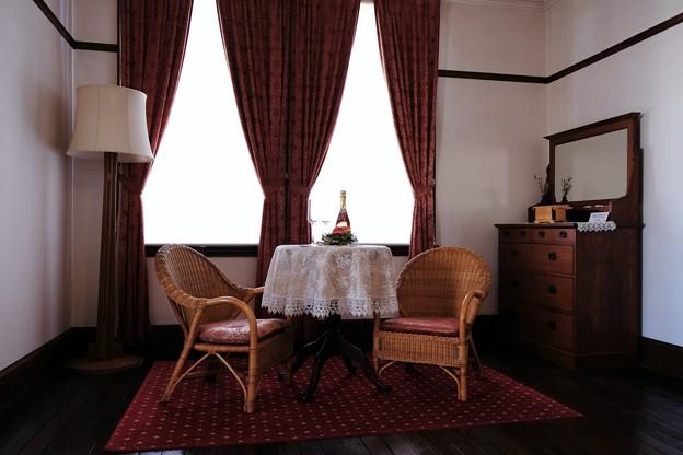 2017.12.12 山手西洋館 外交官の家 世界のクリスマス ルーマニア 寝室