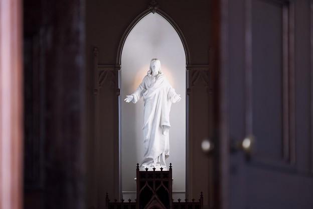 2018.01.16 カトリック山手教会 聖心のイエズス像