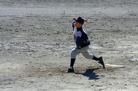 2010.09.25 追分市民の森 少年野球