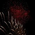 打ち上げ花火下から見てみた-石狩まるごとフェスターニトリ花火20170826 (17)