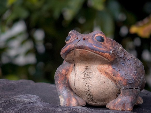 元興寺福蛙