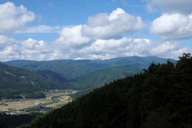 芸北の山なみ(4)