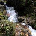写真: 深山の滝の秋