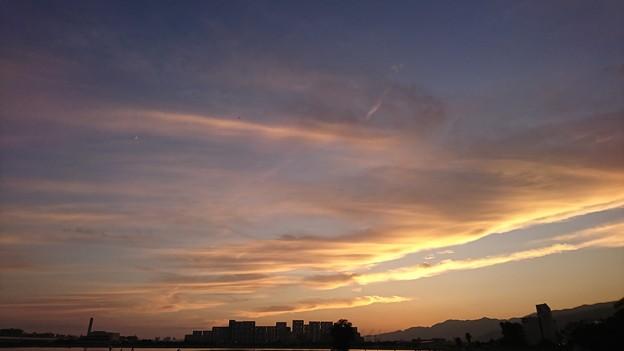 美しい夕焼け