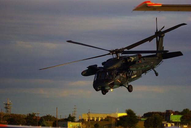 Photos: UH-60救難多用途ヘリ