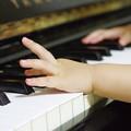 写真: 小っちゃなピアニスト~(^^♪