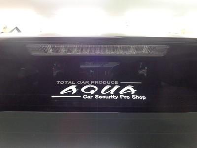 ハリアー60系 新潟県 AQUAステッカー