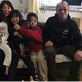 Photos: 来夢の家族