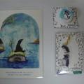 写真: ペンギンアート展戦利品