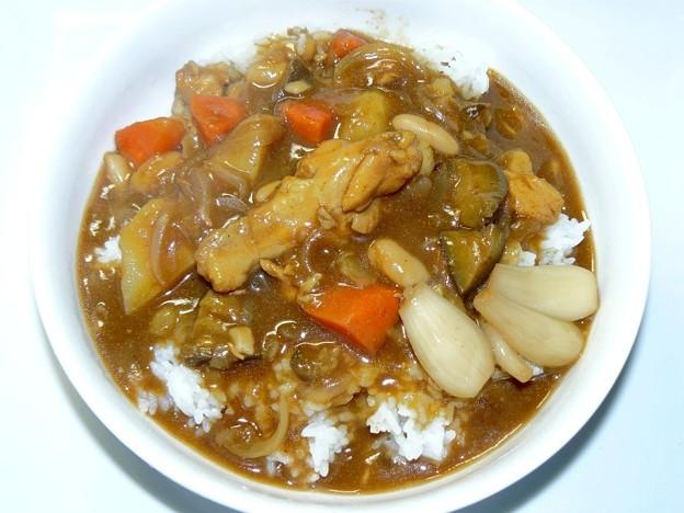 カレー ~ 今回のポイントは白いんげん豆の水煮!