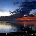 マニラ湾小焼け