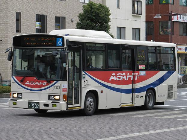 朝日バス 2223号車