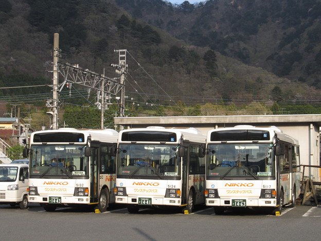 【日光交通】 阪東バス 鬼怒川営業所