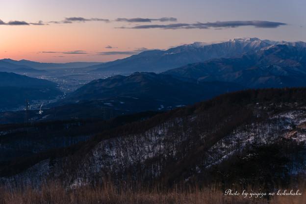 写真: 冬の空から。#2