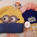 Photos: 西松屋 ミニオン ニット帽 手袋