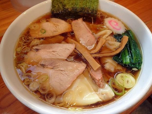 ワンタン麺@とら屋・北上市
