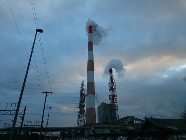 1月5日(金)の煙突