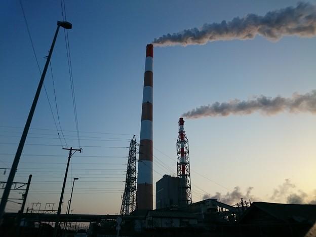 1月17日(水)の煙突