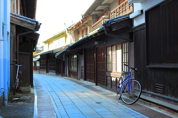 竹原市の町並み