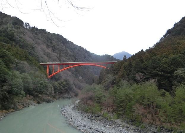 写真: 寸又峡三山・朝日岳